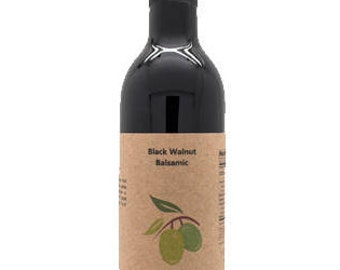 Black Walnut Dark Balsamic Vinegar, 12.6oz.