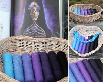 DEATH'S Aura - Gradient Batt Set - 100g