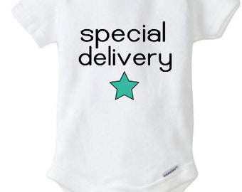 Special Delivery infant bodysui
