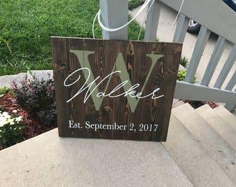 Wedding gift, custom wedding gift, anniversary gift, christmas gift