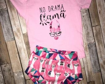 Pink llamas bummies