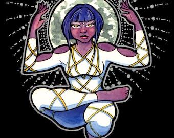 Super Moon Goddess