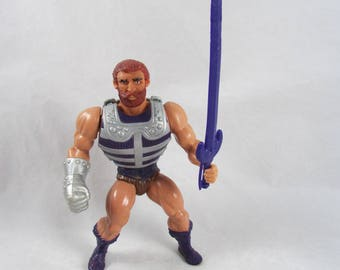 MOTU FISTO Action Figure Complete Masters of the Universe He Man Vintage 1983