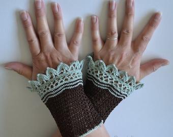 JO, Crochet wristlet pattern, pdf