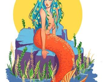 Mermaid Miniprint