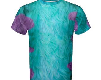 Men's Sulley Monsters Inc Inspired ATHLETIC Shirt