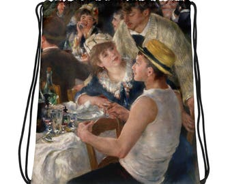 Pierre-Auguste Renoir, Luncheon of the Boating Party - Drawstring bag