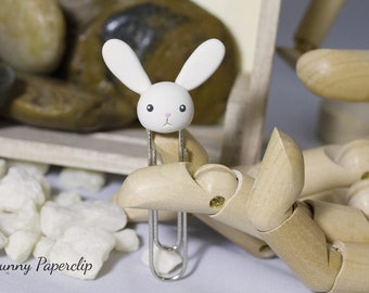 Rabbit Bunny Bookmark Paperclip