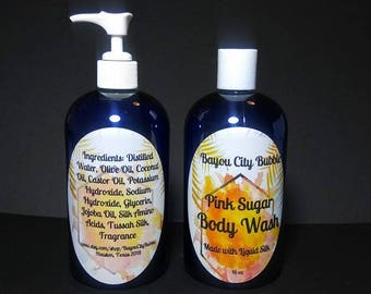 Liquid Body Wash - Pick your favorite scent