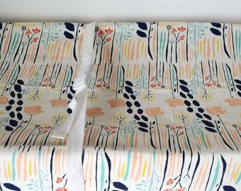 Korallen-Baby-Bettwäsche - Mädchen Krippe Blätter / Mini Krippe Blatt/Koralle Mint Kinderbett Bettwäsche / Wickelunterlage Abdeckung / Kinderbett Bettwäsche Marine Mädchen Kinderzimmer ausgestattet
