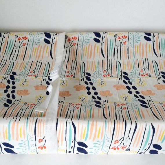 coral baby bedding girls crib sheets mini crib sheet. Black Bedroom Furniture Sets. Home Design Ideas