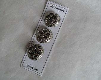 Metal Vintage Buttons