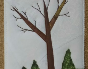 Postcard - Bare Branches