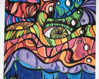 Psychedelic Art - Pellucid