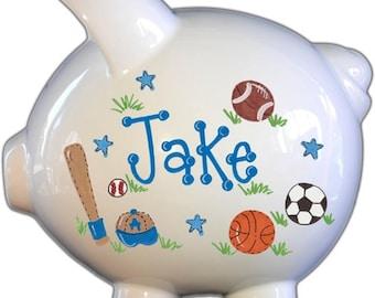 Kid's Piggy Bank| piggy bank for boy | Personalized Piggy Bank | Piggy Bank Personalized for boy | Piggy Bank