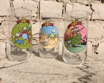 3 DuckTales Disney glasses