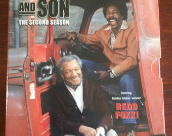 Vintage Sanford and Son, DVD, Second Season, Starring Redd Foxx, Books, Music and Movies, Sanford and Son, Home and Living, collectibles.