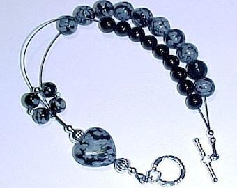 Hearts Desire Gemstone Abacus Row Counter Bracelet -  Item No. 603