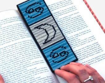 Cancer Cross Stitch Pattern PDF Astrology Zodiac