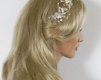 Emilia beautiful headband in ivory