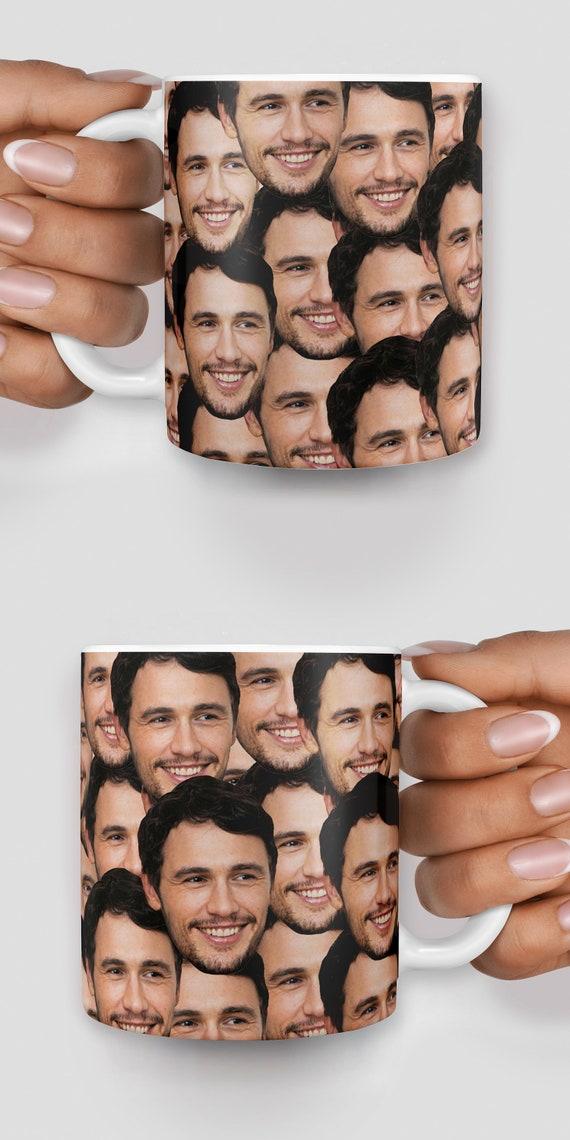 James Franco everywhere mug - Christmas mug - Funny mug - Rude mug - Mug cup 4P153