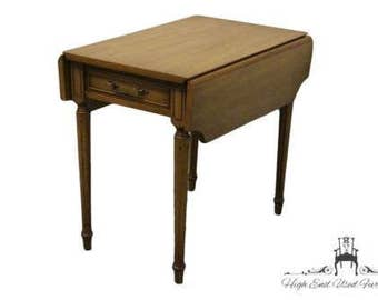 COLUMBIA MANUFACTURING Mahogany Pembroke End Table