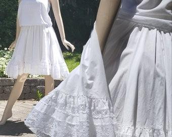 Eyelet petticoat/Victorian undergarment