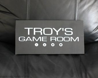 Game Room Sign.  Gamers Sign. Man Cave Sign. PS4 Sign. Xbox Sign. Video Game Sign.