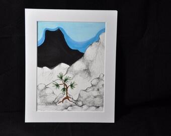 Black Mountain fine print