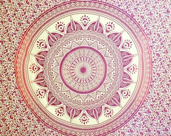 Mandala tapestry, wall tapestries, mandala wall decor, Boho Decor hippie tapestry, wall hanging, Mandala tapestries, mother's day gift