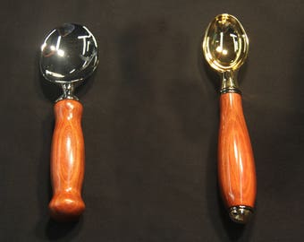 Ice Cream Scoops and Paddle (2 variations)