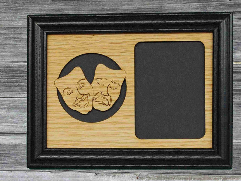 5x7 Theater Picture Frame, Thespian Gift, Theatre Frame, Thespian ...