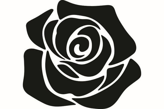 rose 2 petal bud flower bouquet thorn leaves nature garden rh etsy com vector rose gold vector rose free