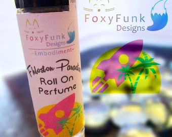 Fhloston Paradise Roll On Perfume Summer Beach Scent Fragrance Oil