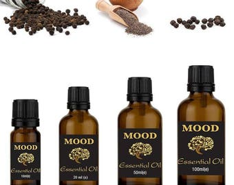 Black pepper essential oil natural aromatherapy essential oils