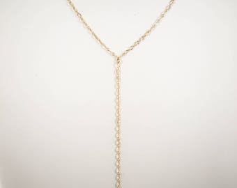 Sunburst Chain Y Necklace, Layering Necklaces