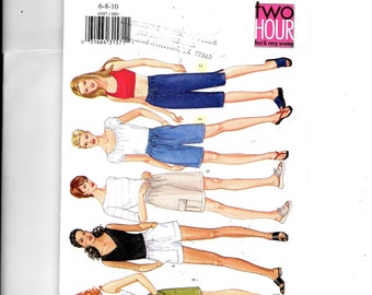 Butterick Misses'/Miss Petite Shorts and Pants Pattern 6597