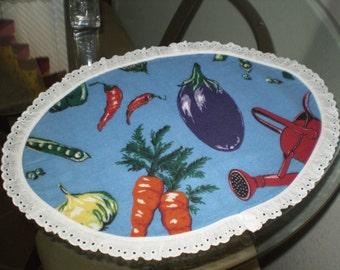 Garden Flannel Placemats