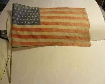 Rare  early late 1800's circa 1896 to 1908 American 45 star flag. 30% off now 157.50 Orig. 225.00