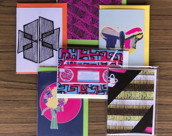 Assorted Six Greeting Cards deal for those who love to give gifts and mark special occasions with a greeting card Pack No 22