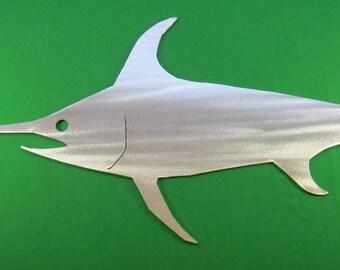 Metal Art Fish Replica & Silhouettes - Swordfish Replica Fish