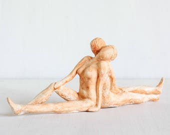 Peaceful Harmony - Man and Woman Sculpture
