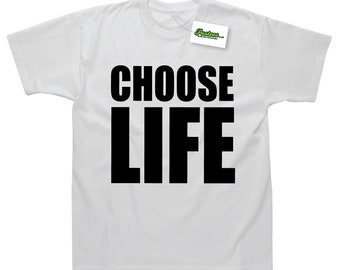 Choose Life Inspired by Wham George Michael 80's T-Shirt