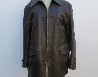 0687 - 40s - Hercules - Top Quality SEARS Roebuck Leather Jacket