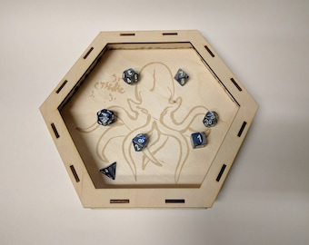"Eldritch - Laser Cut 10"" Dice Tray"
