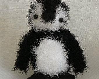 PDF Fuzzy Penguin amigurumi CROCHET PATTERN