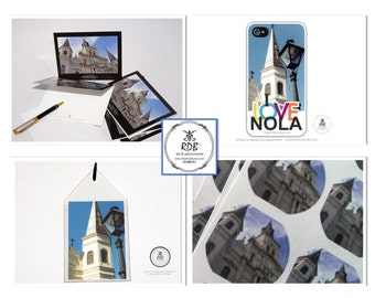 St. Louis Cathedral Lifestyle Set - New Orleans
