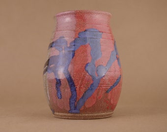 Wheel thrown Stoneware Vase