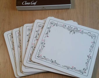 Lovely set of 19 80s placemats