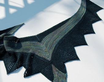 Esther Lace Shawl Knitting Pattern PDF